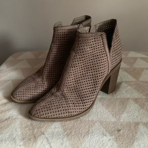 DOLCE VITA Perforated Booties